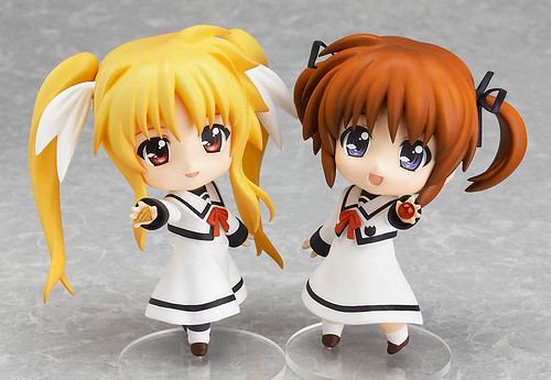 Nendoroid Takamachi Nanoha & Fate Testarossa: Seishoudai Primary School Uniform version