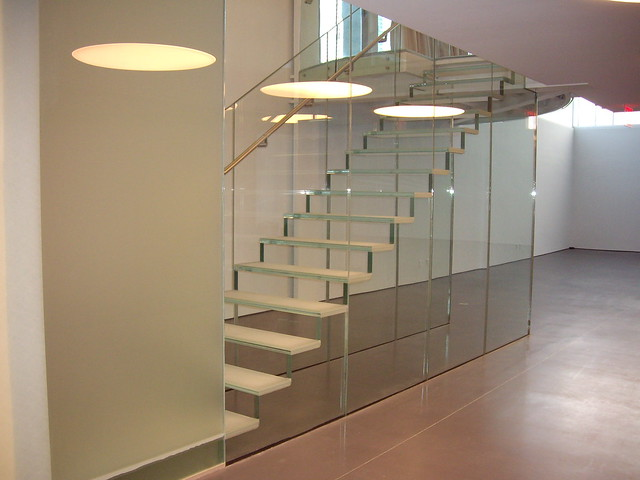 Barandillas de cristal flickr photo sharing - Baranda para escalera ...