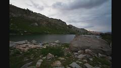 Lamoille Lake Sunset Time Lapse