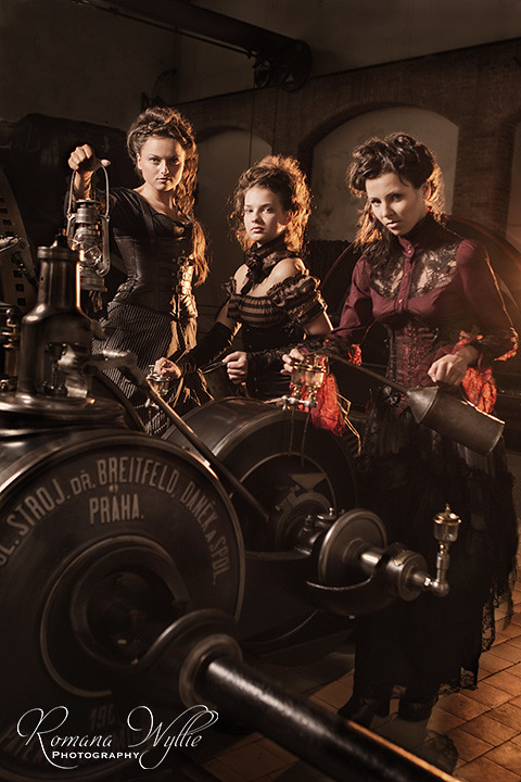 Factory Girls - Steampunk style