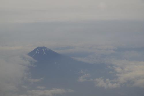 富士山を見下ろして