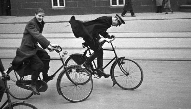 Danish Bicycle History - Wind