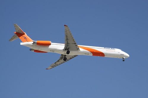 YA-KMG McDonnell Douglas MD-83 Kam Air
