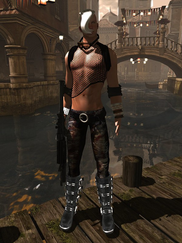 Z-hunter outfit by Egoisme in Second Life