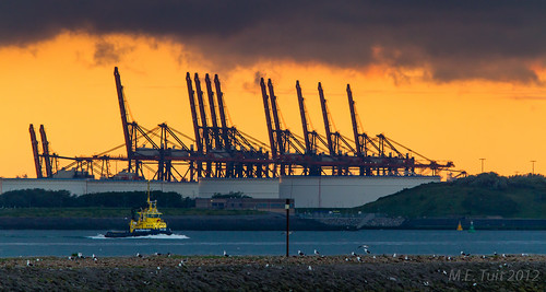 Port of Rotterdam...