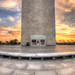 Washington Monument at Sunset HDR Panorama