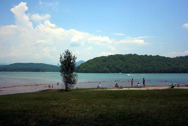 Lake Chatuge at  Clay County Recreational Park