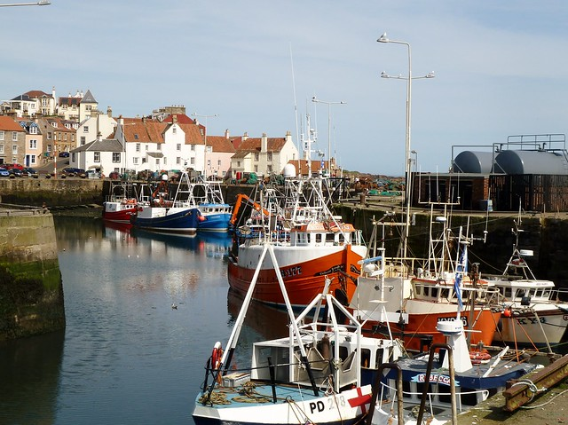 Pittenweem Harbour, Fife Coast