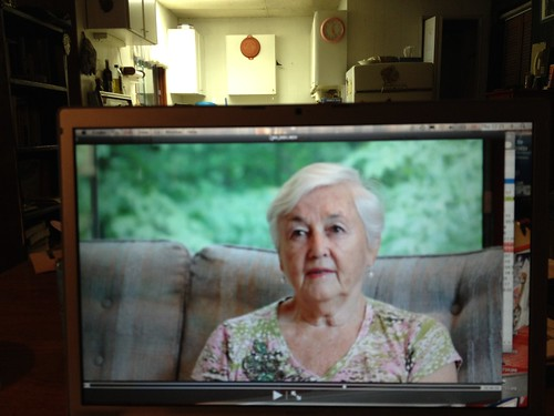 Just wrapped up the first shoot for #DEFUNCT with my beautiful grandmother. http://megansmith.ca/works/ #CFBCentralia #CFBClinton #CFBUplands #CFBRockcliffe
