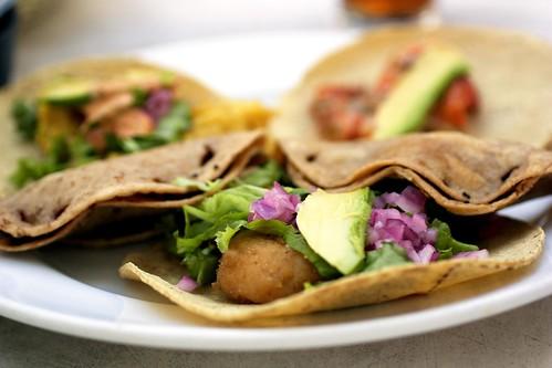 tacos @ el fish fritanga