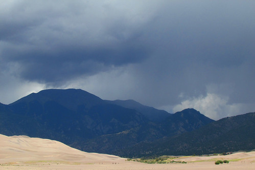 Storm over the Sangres: Great Sand Dunes National Park & Preserve, Colorado (CO)