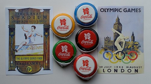 Coca-Cola Olympic Yo-Yo by hytam2