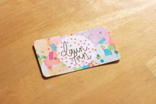 Dawn Tan Business Card