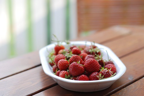 oma aia maasikad/strawberries from my garden
