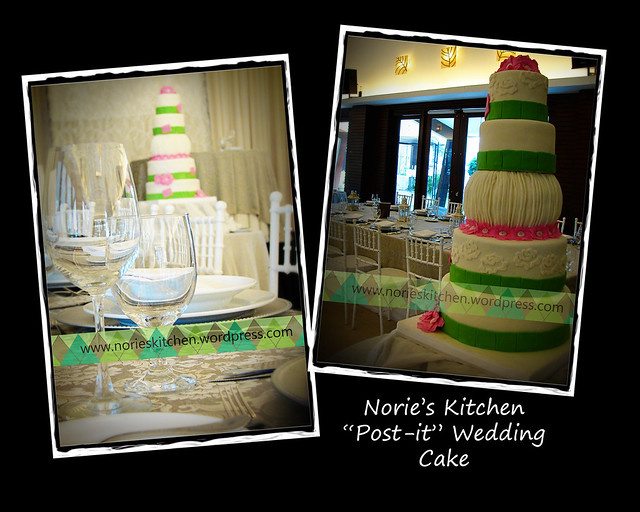 Norie's Kitchen - Post it Wedding Cake-Venue