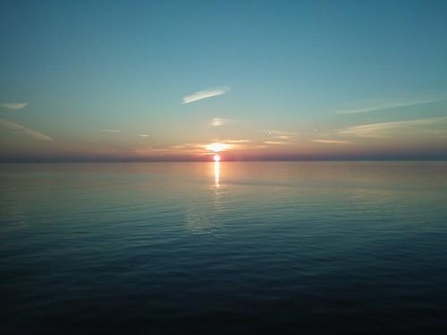 Baltic Sea dusk