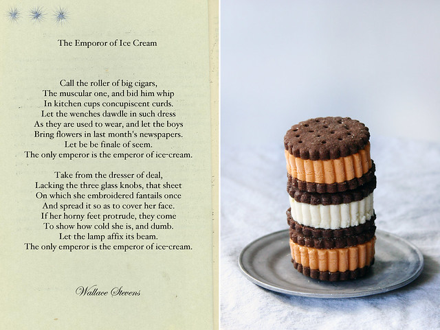 the use of repetition in the emperor of ice cream by wallace stevens This is one of wallace stevens' best-known short poems  the ice cream of the  title is mentioned not only in the phrase the emperor of  the repetition of the  line ending each stanza, the only emperor is the  terms of use jobs blog.