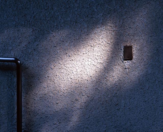 壁面のフタ