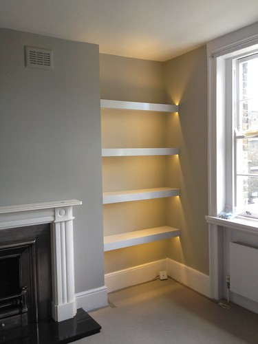 alcove lighting and shelves on pinterest alcove lighting ideas