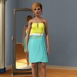 Wild Card Buckled Dress (1)
