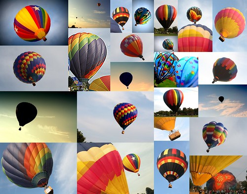 Green Grove Balloons collage