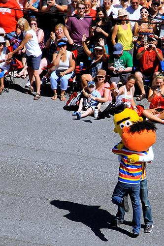 Bert and Ernie Love - Vancouver Pride 2012