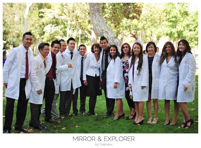 USC Ostrow Class of 2015: White Coat Ceremony | Mirror and ...