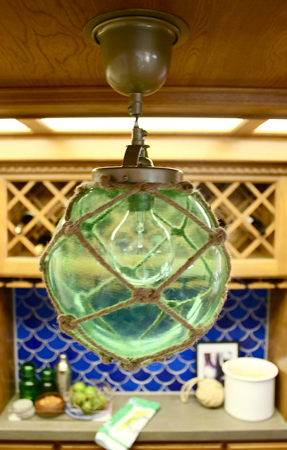 diy japanese glass fishing float light | kara paslay design, Reel Combo