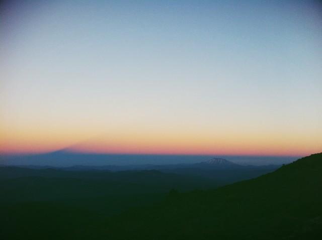 Mt Adams climb