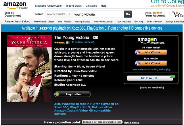 Amazon.com: The Young Victoria: Emily Blunt, Rupert Friend, Paul Bettany, Miranda Richardson: Amazon Instant Video