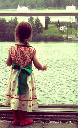 Slavic style dress