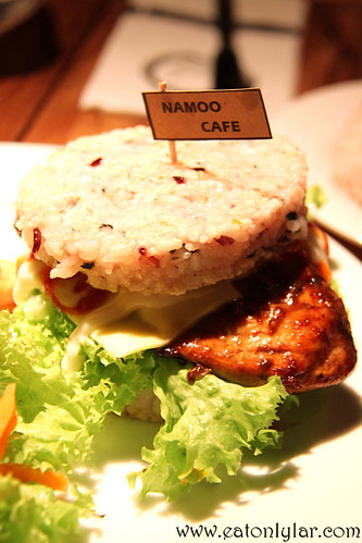 Bibi Rice Burger, Namoo Korean Dessert Cafe n Bistro on the Park