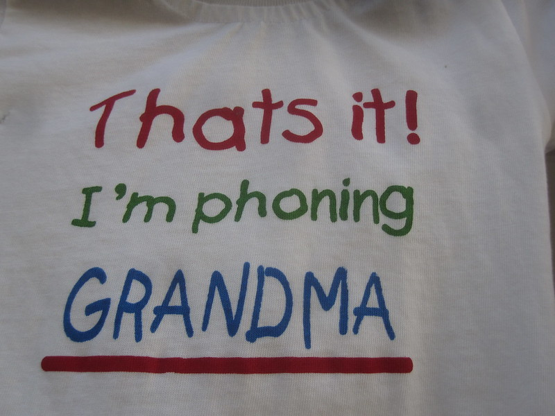 Phoning Grandma