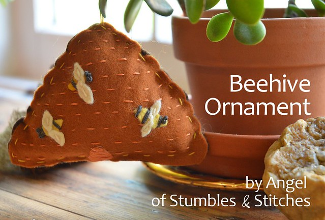 Beehive Ornament TUTORIAL