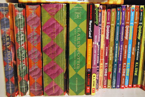 Harry Potter and Goosebumps series