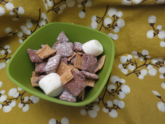 s'moresy snack mix