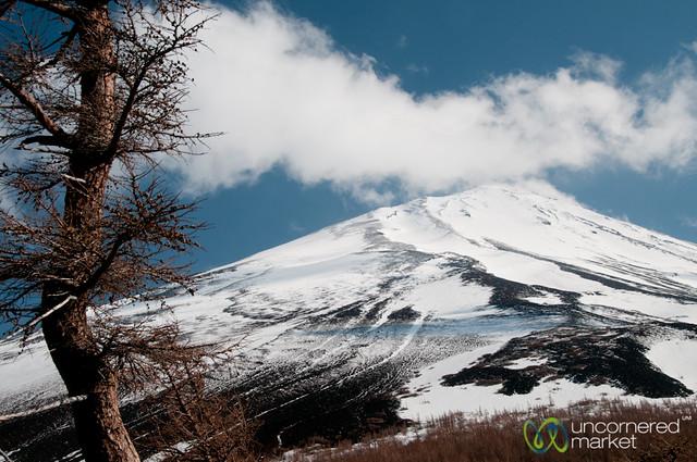 Mount Fuji Peak - Japan