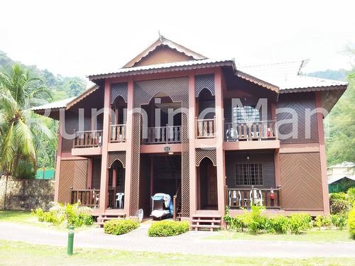 Berjaya Tioman Resort 06 - Superior Chalet Facade
