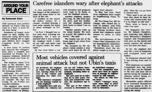 The Straits Times 5 March 1991