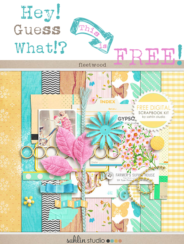 Free Digital scrapbooking kit1