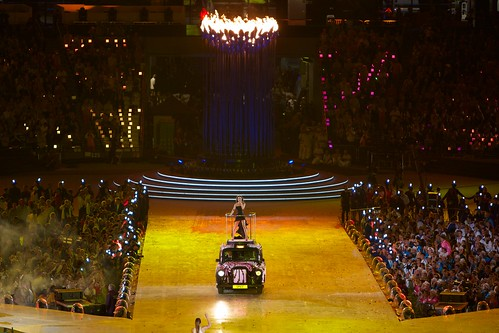 Olympics 2012 Closing Ceremony - Spice Girls: Victoria Beckham