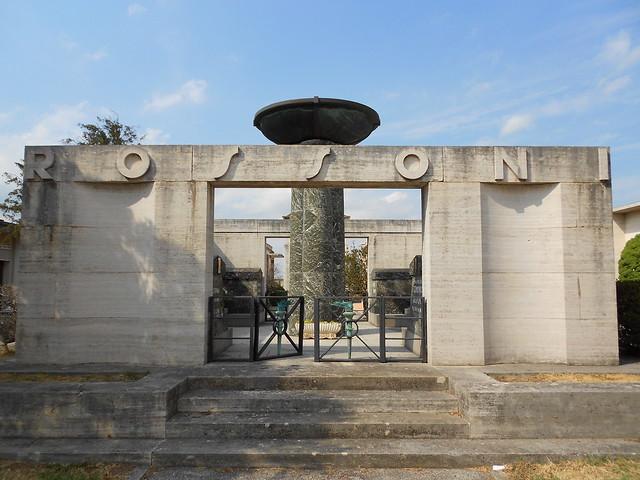 Tresigallo - mausoleo Rossoni