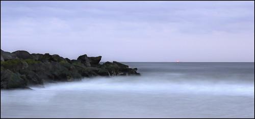 ocean sky newyork beach canon coast dusk jetty shoreline longisland atlantic longbeach shore t2i