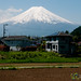 Mount Fuji from the Train - Japan