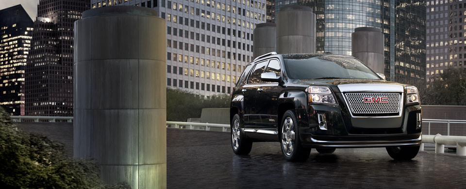The All-New 2013 GMC Terrain Denali