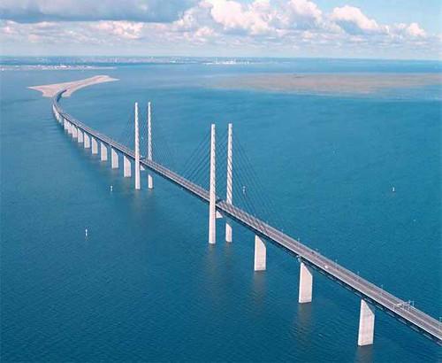 Denmark Oresund Bridge (Oresund Strait, Denmark and Sweden)bridges (9)