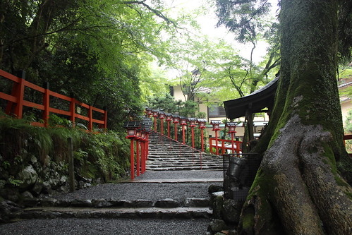 Kibune shrine steps