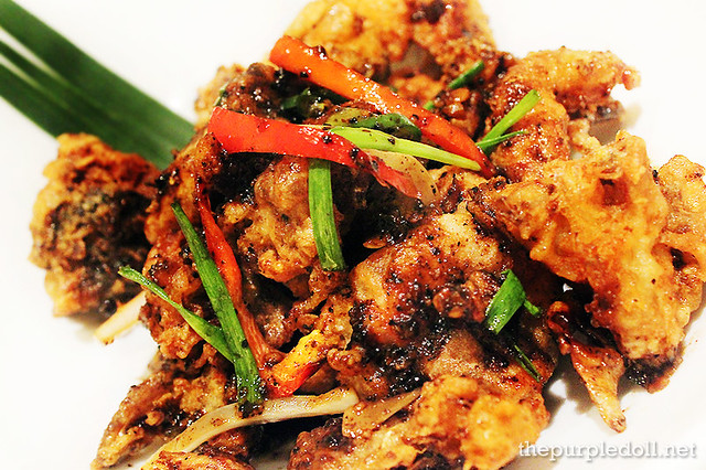 Black Pepper Soft Shell Crab P395