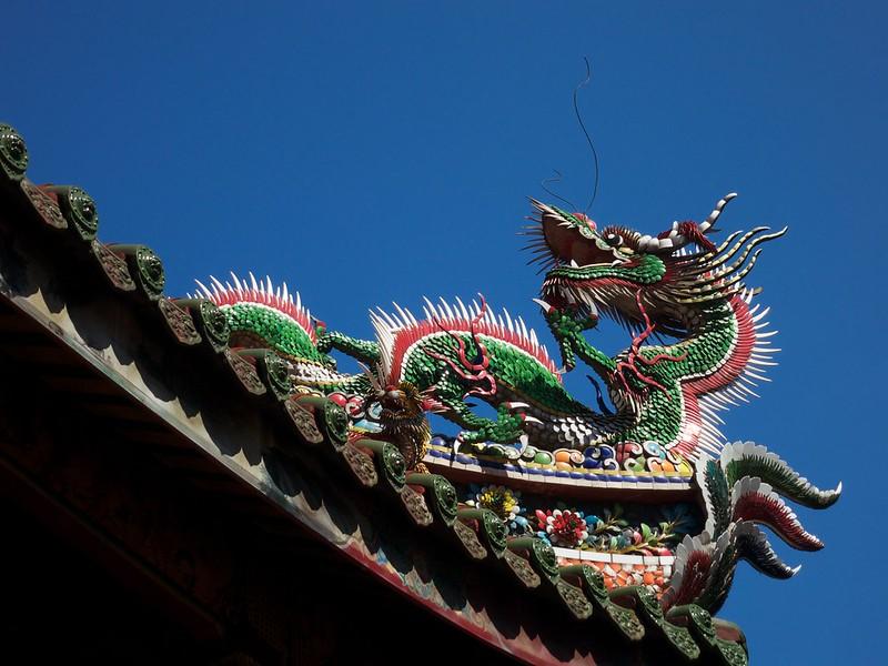 2012 台湾旅行 龍山寺