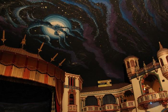 Chicago history touring the aragon ballroom for Origin of balcony